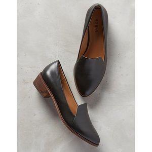 Anthro Kelsi Dagger Brooklyn KDB Leather Loafers